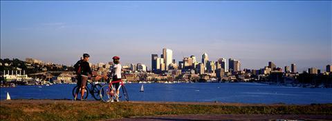 Biking Seattle